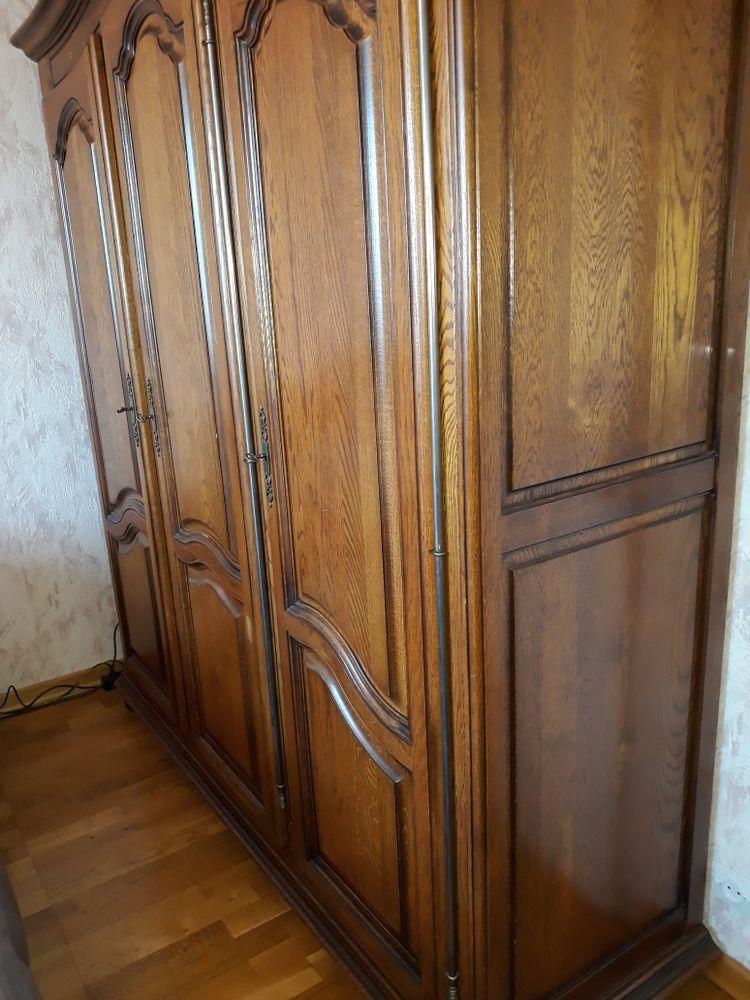 Chambre à coucher chêne massif. 650 Saint-Dizier (52)