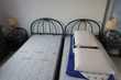 Chambre à coucher méridionale en rotin bleu Meubles