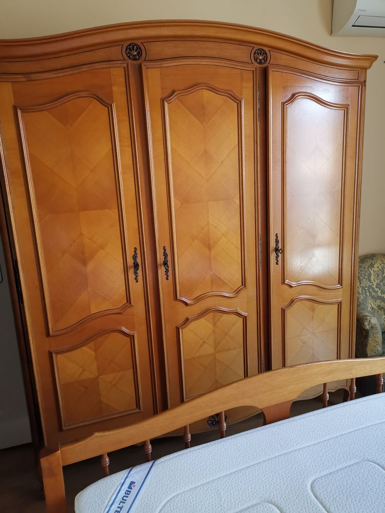 Chambre à coucher merisier complète  110 Vernioz (38)