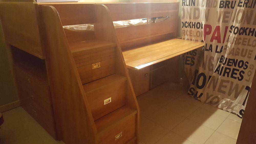 lits mezzanine occasion annonces achat et vente de lits. Black Bedroom Furniture Sets. Home Design Ideas