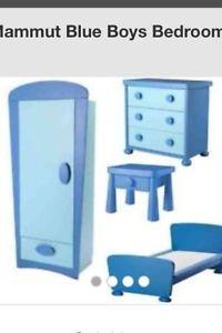 chambre enfant mammut bleue Mobilier enfants