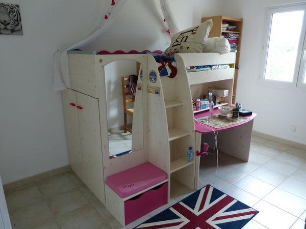 achetez chambre enfant lit occasion annonce vente. Black Bedroom Furniture Sets. Home Design Ideas