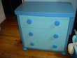 Chambre 2 lits jumeaux ikea modele mammut bleue Gaillac-Toulza (31)