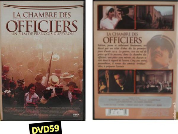 DVD - LA CHAMBRE DES OFFICIERS 4 Mons-en-Barœul (59)
