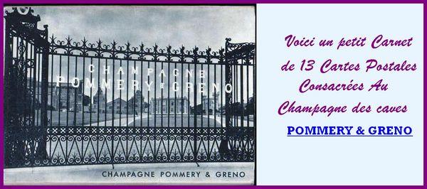 CHAMPAGNE POMMERY & GRENO / prixportcompris 25 Lille (59)