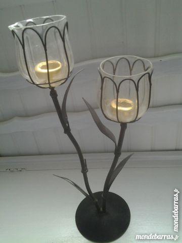 chandelier en fer forgé et verre 5 Marseille 12 (13)