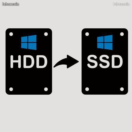Changement de votre disque dur sur PC Portable 39 Chelles (77)
