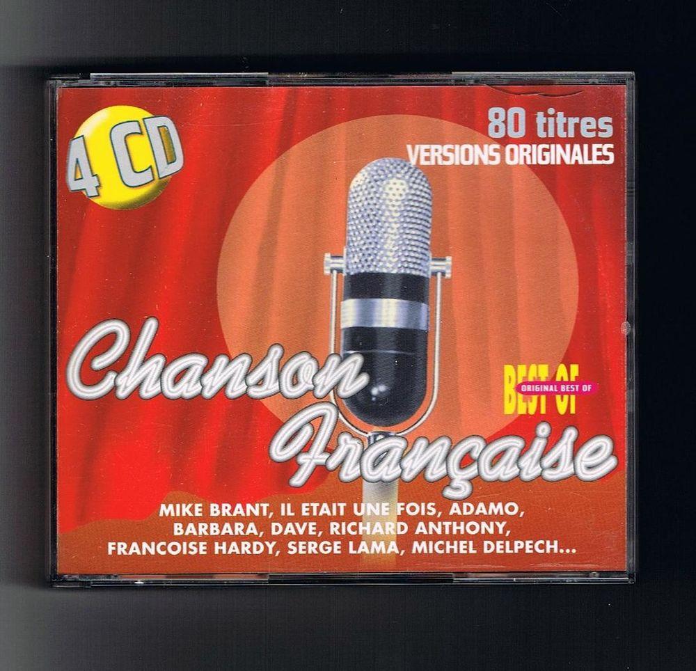 CHANSON FRANCAISE BEST OF - COFFRET 4 CD - 80 Titres 12 Tourcoing (59)