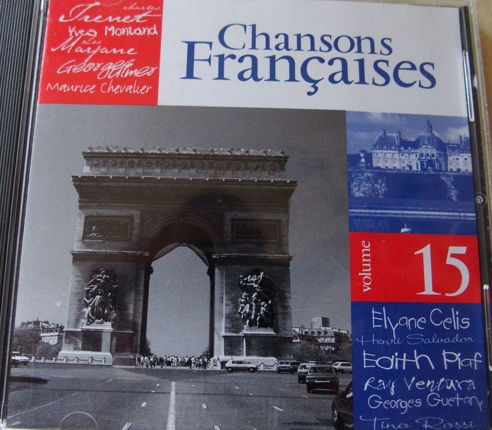 CD CHANSONS FRANCAISES  Vol 15 6 Lille (59)