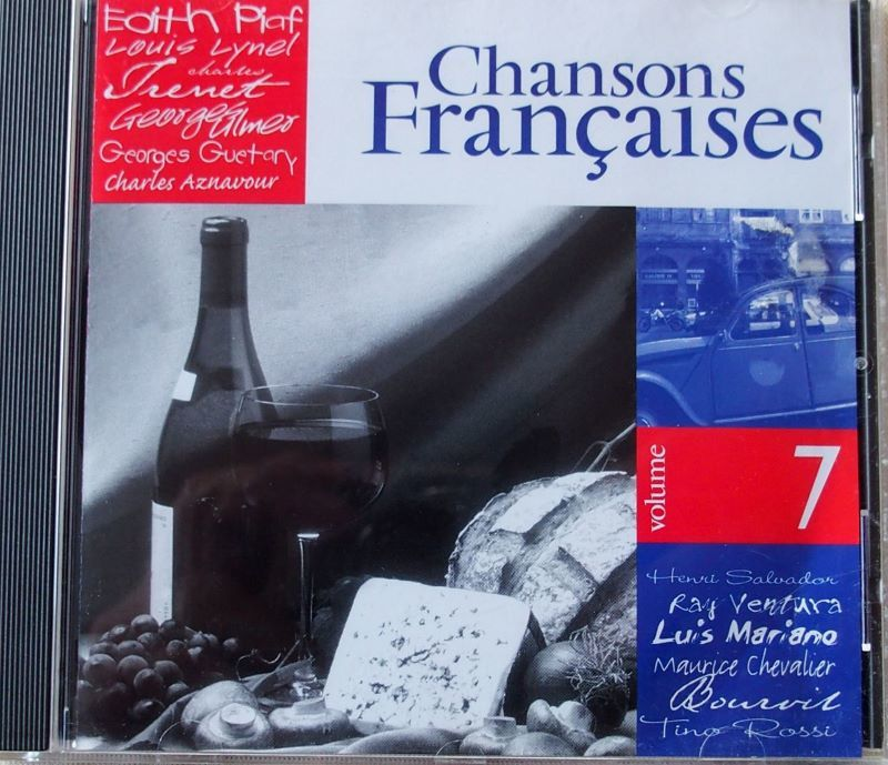 CD CHANSONS FRANCAISES  Vol 7 6 Lille (59)