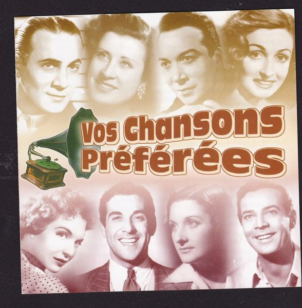 VOS CHANSONS PREFEREES T. ROSSI LUIS MARIANO GUETARY CLAVEAU 8 Agen (47)