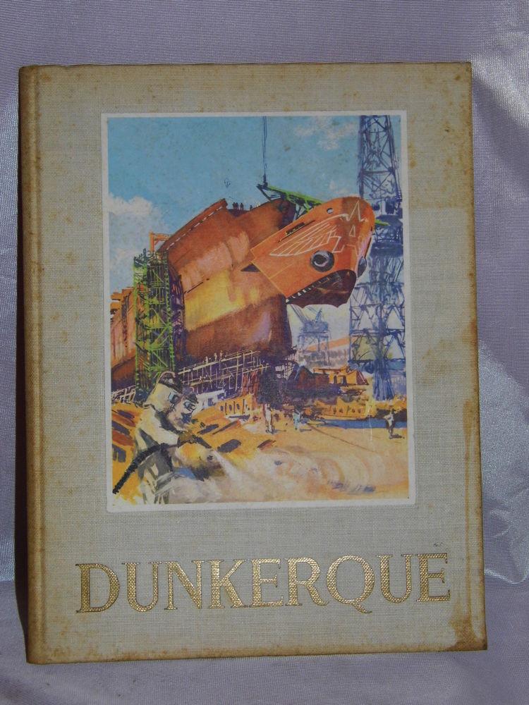 Chantier de France DUNKERQUE Bateau marine 1958 20 Dunkerque (59)
