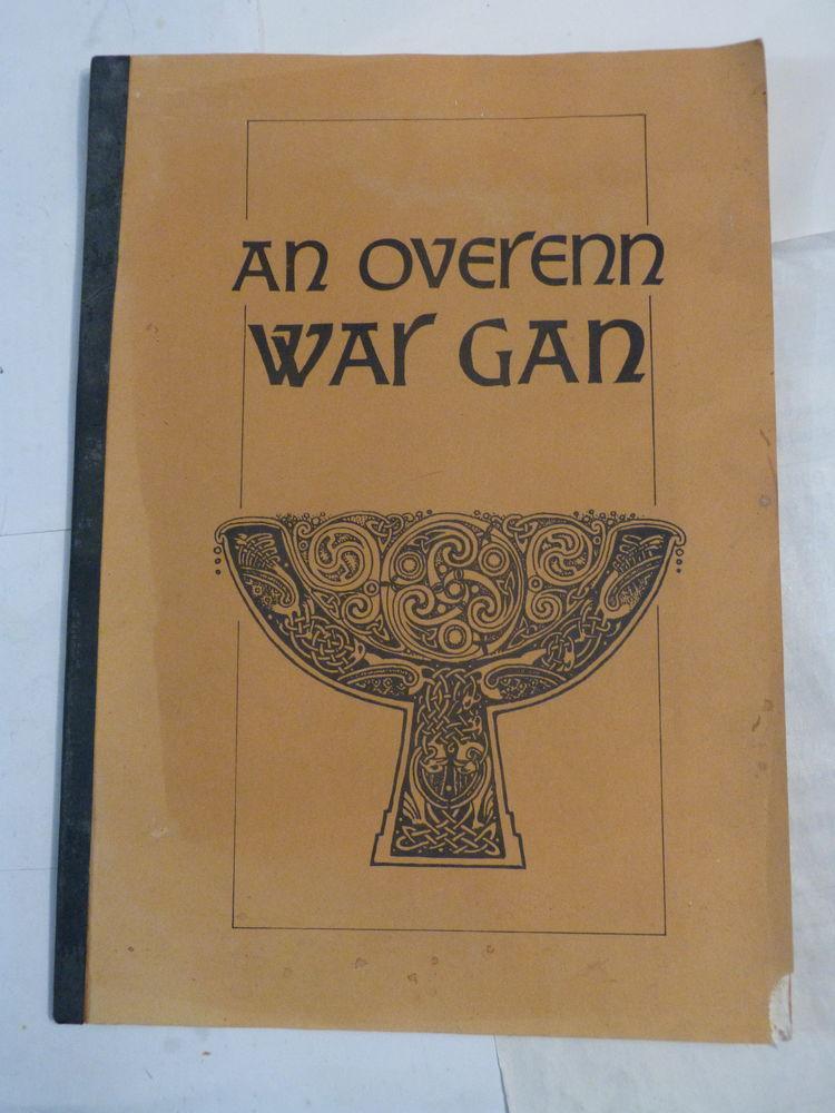 chants ecrit en breton  AN OVERENN WAR GAN 12 Brest (29)