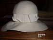 chapeau borsalino blanc femme