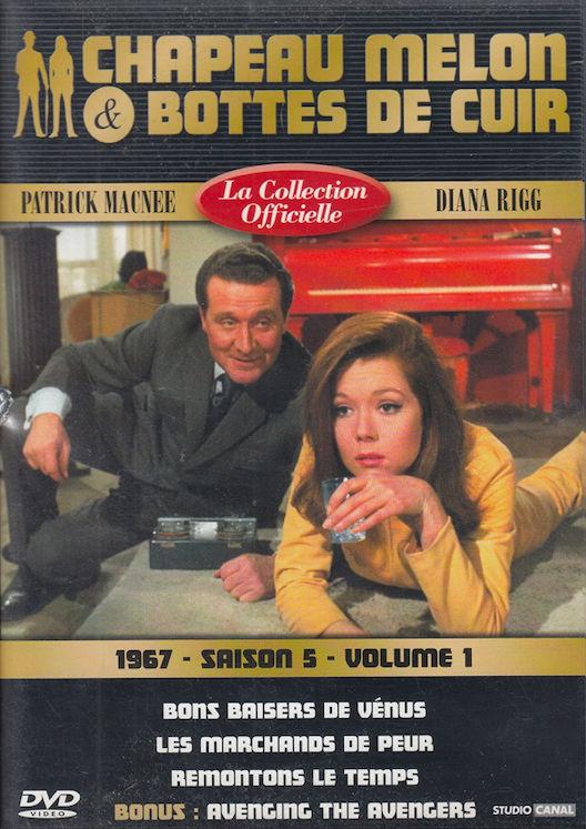 DVD  Chapeau Melon & Bottes De Cuir 1967 P. Macnee / D. Rigg 3 Antony (92)
