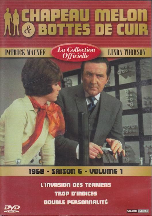 DVD  Chapeau Melon & Bottes De Cuir 1968 P. Macnee / Thorson 3 Antony (92)