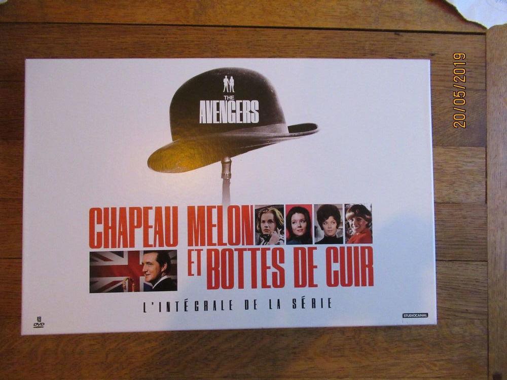 Chapeau Melon et Bottes de Cuir Intégrale de la série - Neuf 50 Vandœuvre-lès-Nancy (54)