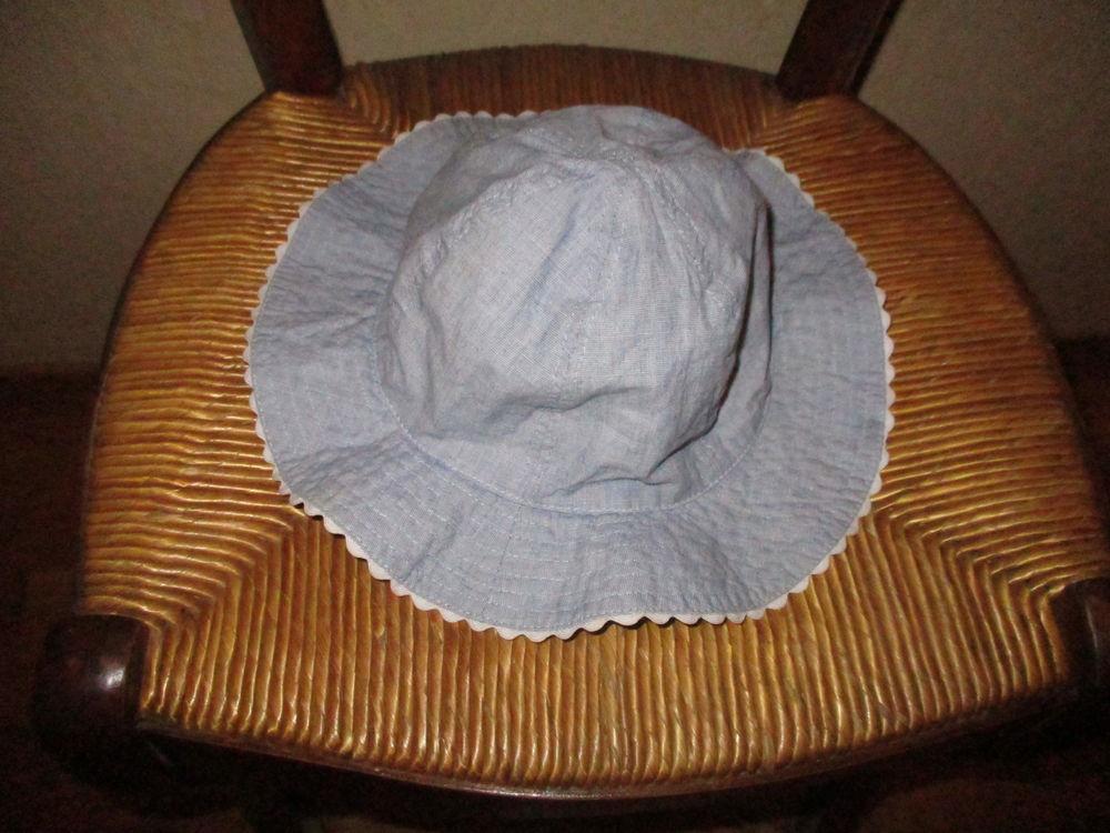 chapeau tissu jeans bébé 86 cm 12/18 mois   0 Mérignies (59)
