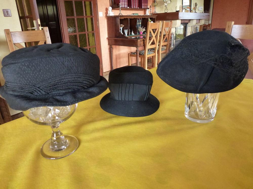Chapeaux et mantilles d'époque années 1930/1940. 35 Limoges (87)
