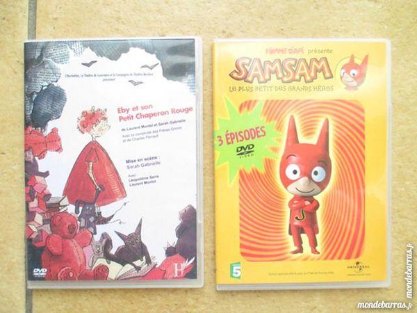 2 dvd : SAM SAM, EBY chaperon rouge 4 Alfortville (94)