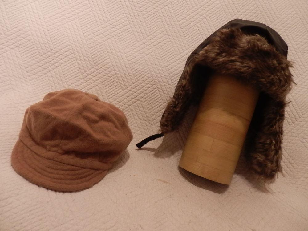 Chapka noire et casquette 18 La Garenne-Colombes (92)