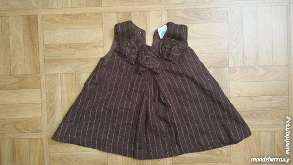 CHARABIA Robe marron 6 mois 3 Paris 20 (75)