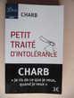 CHARB 'Petit Traité d'Intolérance'