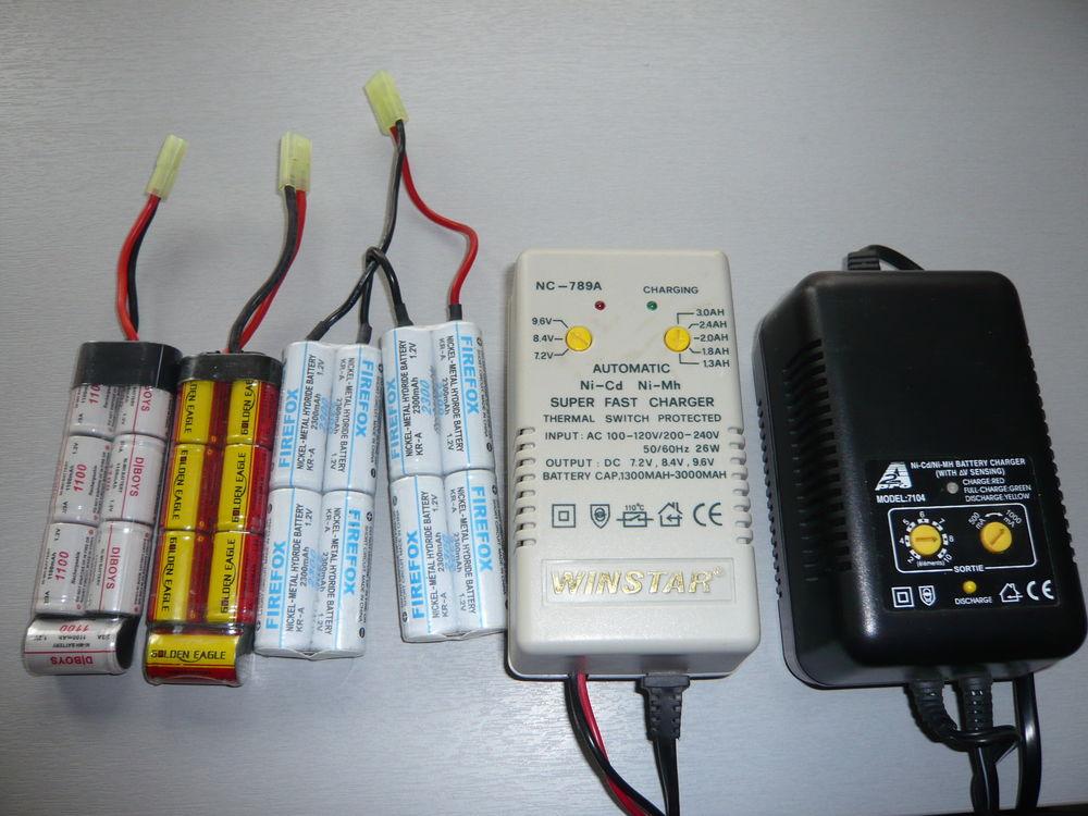 chargeur et batteries airsoft 0 Heillecourt (54)