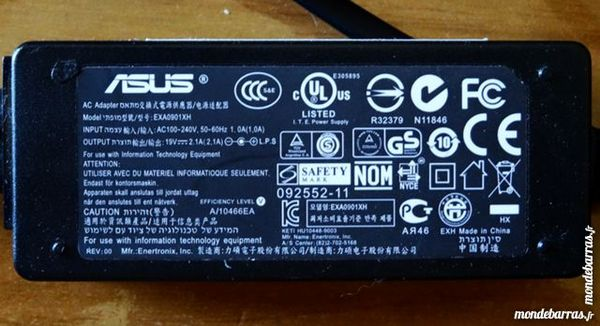 chargeur pour Netbook ASUS 1025 C 20 Narbonne (11)