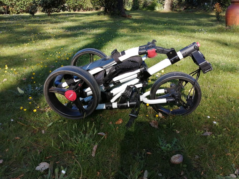 chariot de golf manuel Trolem one lock 90 Capbreton (40)