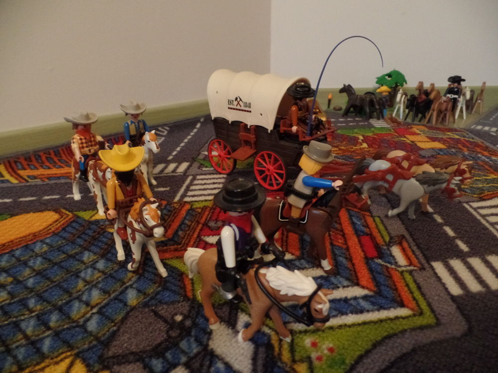 Chariot western Playmobil Jeux / jouets