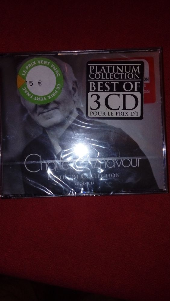 Cd charle Aznavour neuf emballé 3cd 10 Bry-sur-Marne (94)