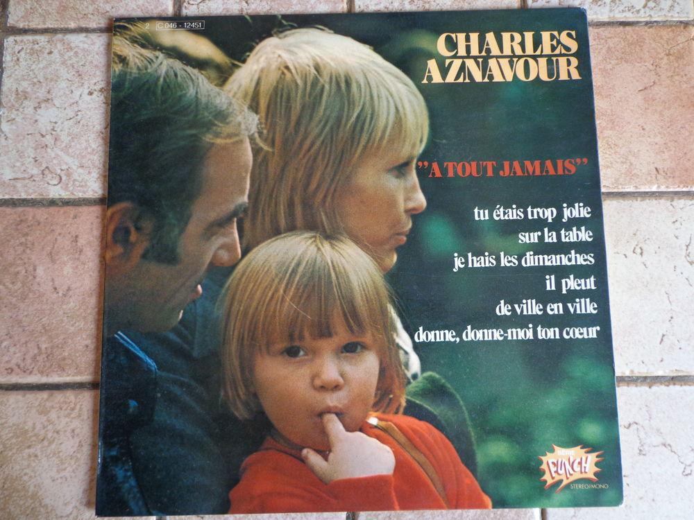 CHARLES AZNAVOUR, vinyles 33 tours 10 Éragny (95)