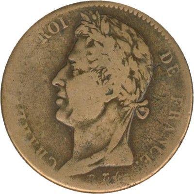 Charles X 10 centimes 1827H La Rochelle 40 Couzeix (87)