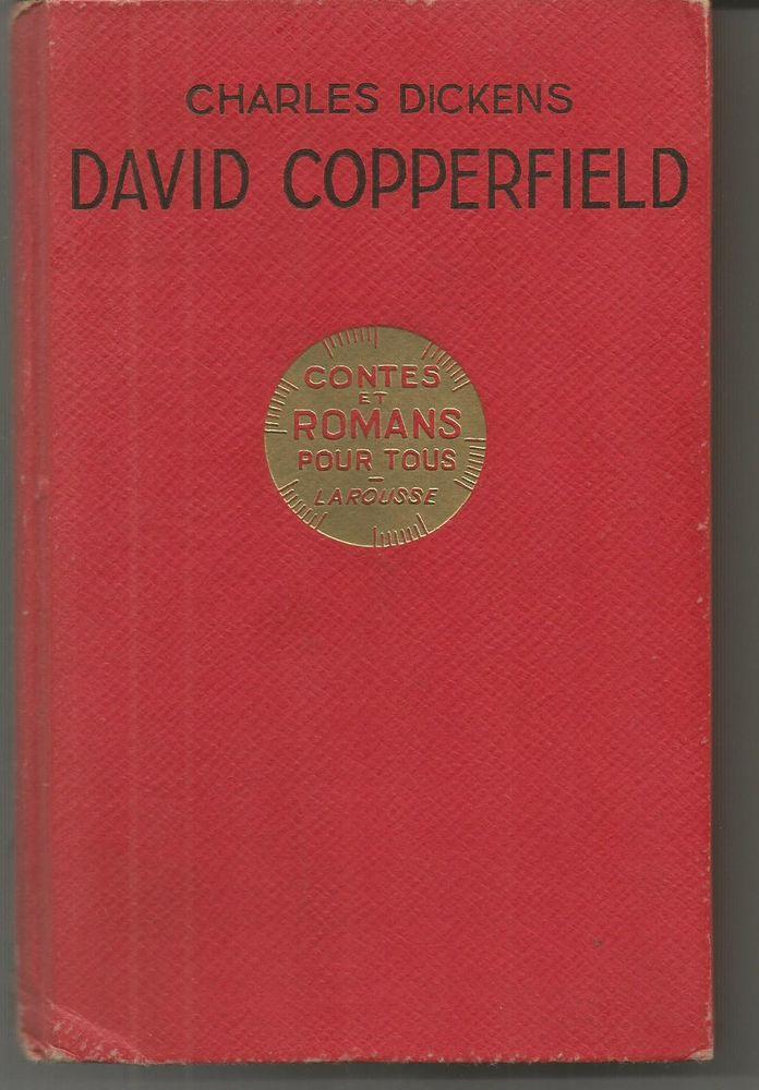 Charles DICKENS David Copperfield - Larousse - 1937 5 Montauban (82)