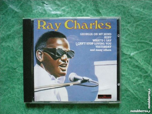 CD Ray Charles  20 titres 3 Saleilles (66)