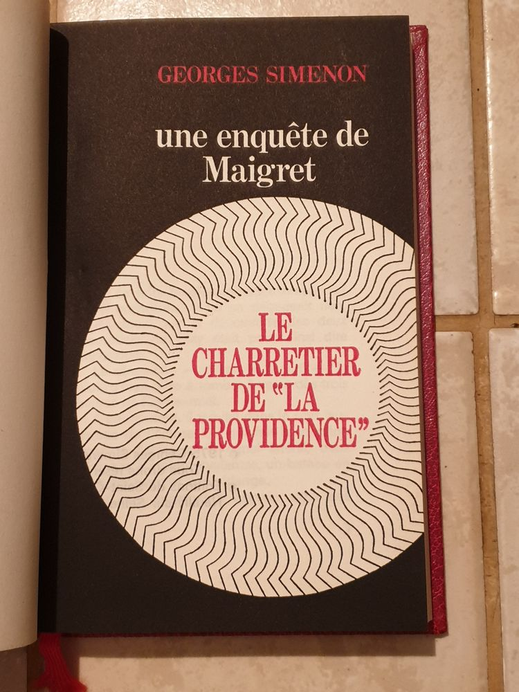 le charretier de la providence de Georges Simenon roman poli 1 Marseille 9 (13)