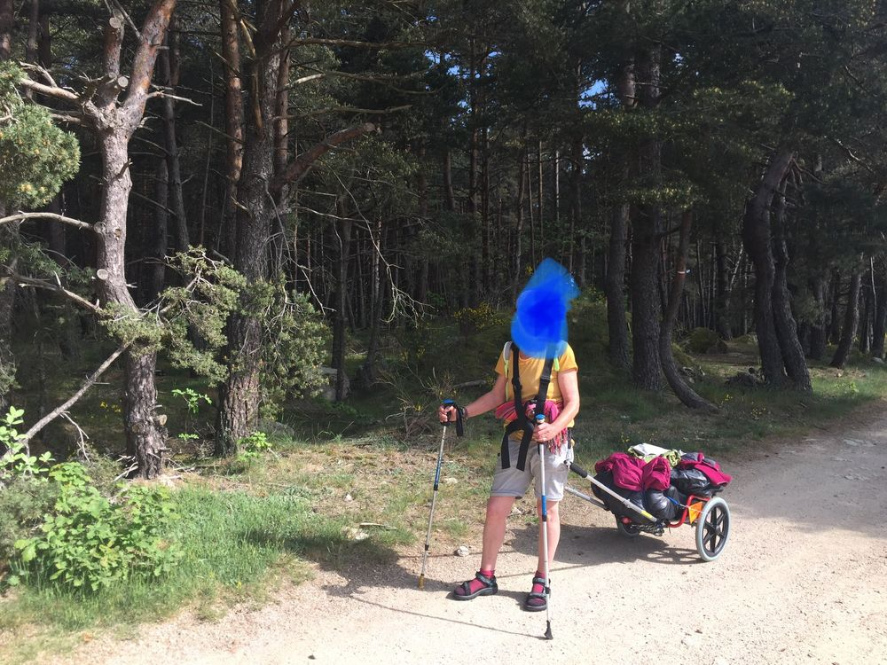 Charriot de randonnée  250 Mussidan (24)