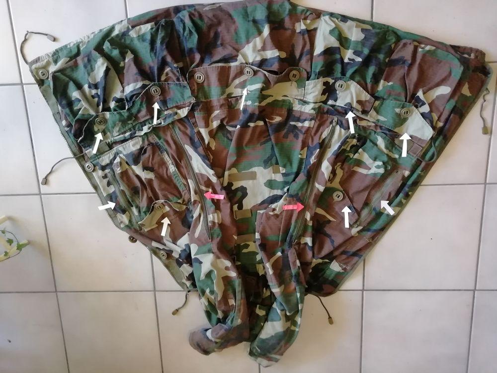 Chasse  Veste parka de camouflage  150 Toulon (83)