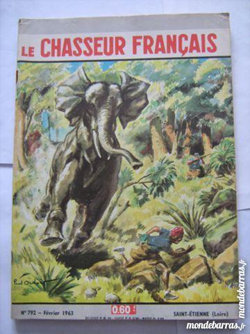 LE CHASSEUR FRANCAIS N° 792  illustration P ORDNER 5 Brest (29)