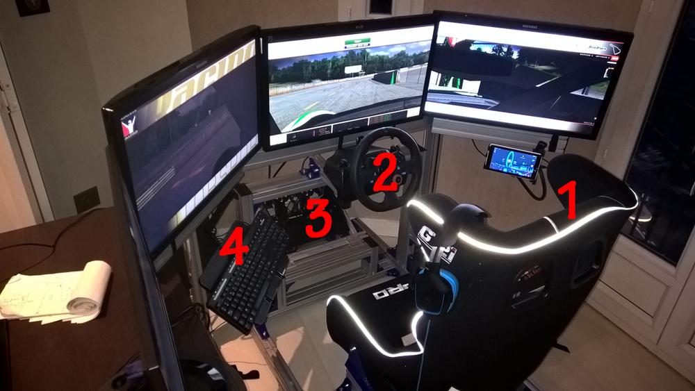 Châssis de simulation auto JCL 950 Nice (06)