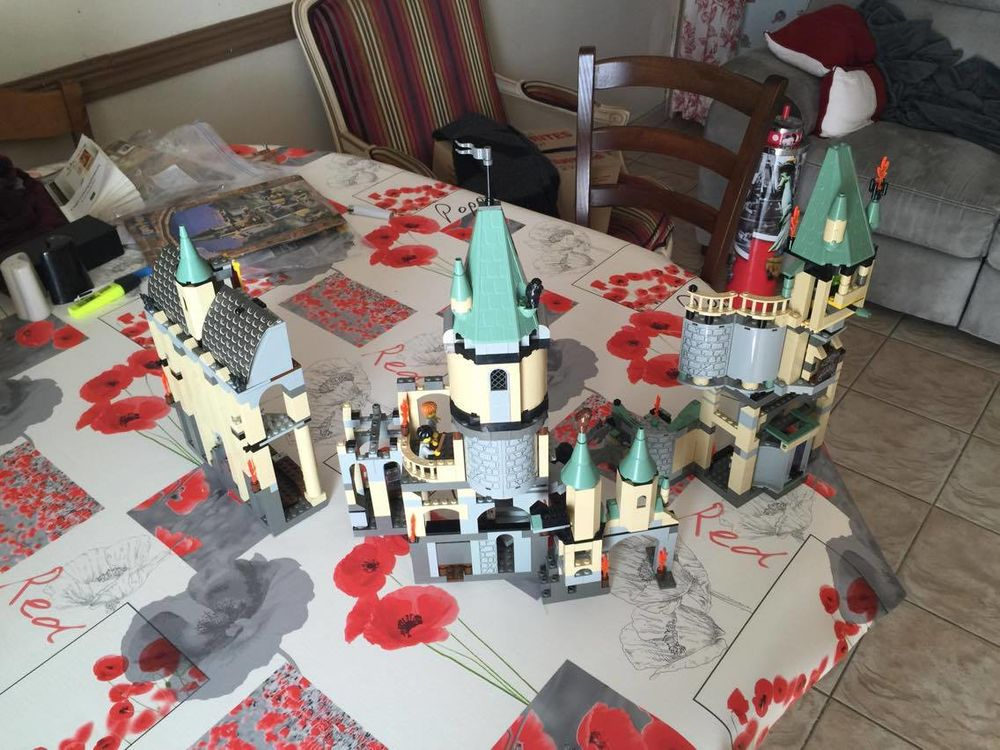 château Harry Potter en legos 150 Cavaillon (84)