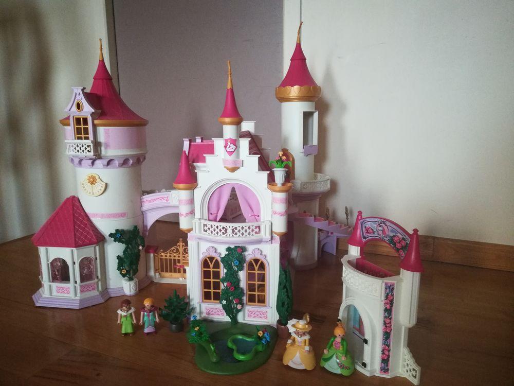 château playmobil avec personnages  60 Chanac (48)