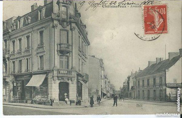 chateauroux 1 cpa avenue de la gare 7 Tours (37)