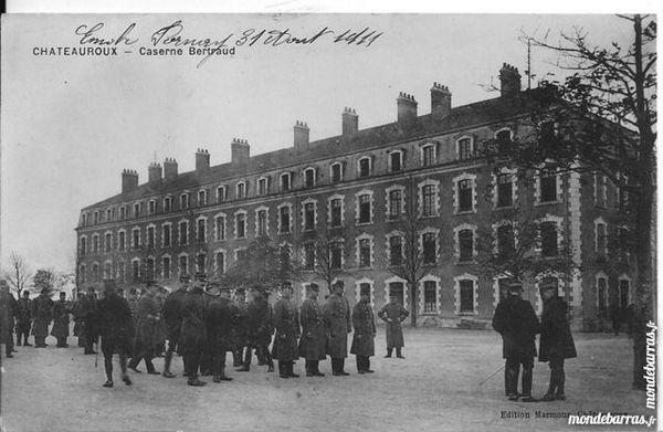 chateauroux la caserne BERTRAUD 12 Tours (37)
