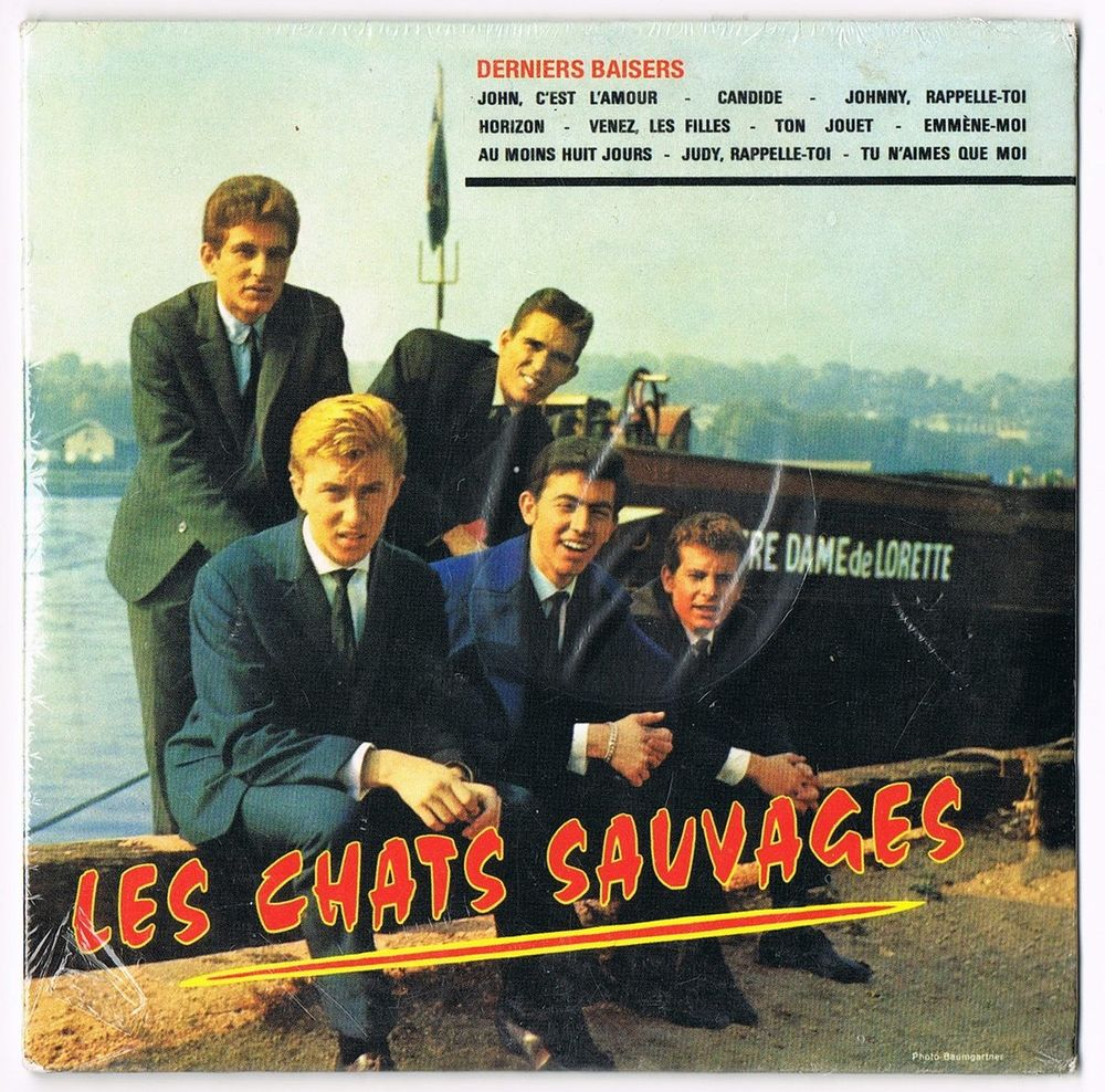 LES CHATS SAUVAGES-CD 19titres-DERNIERS BAISERS-MIKE SHANNON 12 Tourcoing (59)