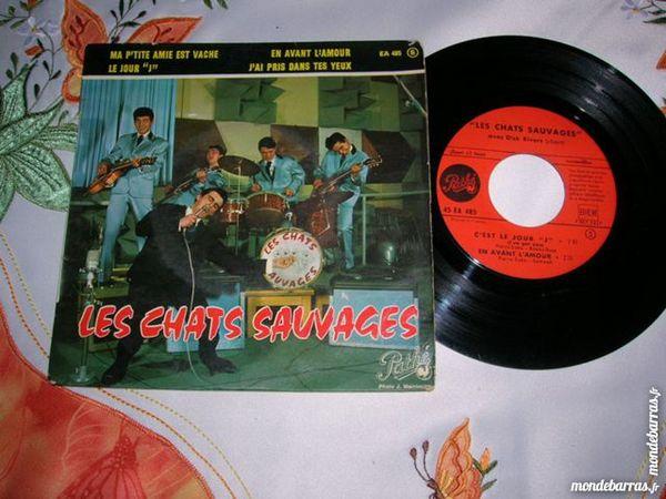 EP LES CHATS SAUVAGES Ma p'tite amie est vache 14 Nantes (44)