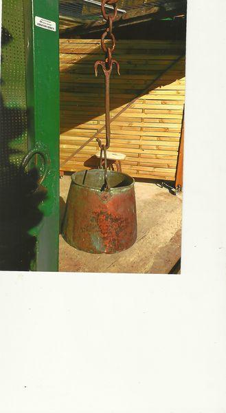 Achetez chaudron ancien avec occasion annonce vente la for Decoration cremaillere