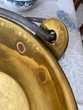 Chaudron en laiton très ancien + 150 ans grandes dimensions Décoration