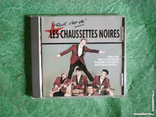 CD Les Chaussettes noires  « Oublie - moi  » 8 Saleilles (66)